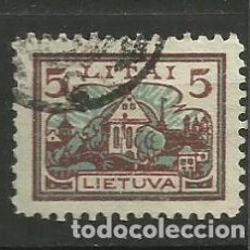 Timbres: LITUANIA - SELLO USADO. Lote 153697386