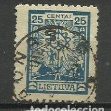 Timbres: LITUANIA -1923- SELLO USADO - . Lote 153720686