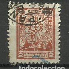 Timbres: LITUANIA -1923- SELLO USADO - . Lote 153720726