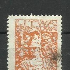 Timbres: LITUANIA -1920 SELLO USADO. Lote 153823050