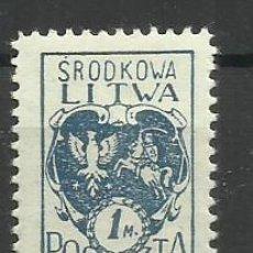 Timbres: LITUANIA -1920 SELLO NUEVO **. Lote 153823258