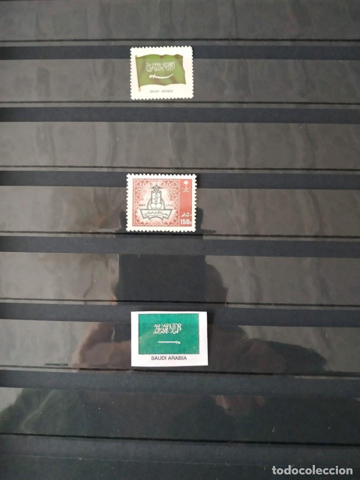 Sellos: 15 PAISES ASIATICOS - 35 SELLOS + BANDERAS - Foto 2 - 155797338