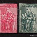 Sellos: SIRIA 114/15** - AÑO 1959 - DIA DE LAS MUJERES ARABES. Lote 159990338