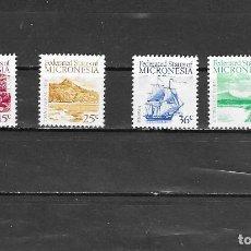 Selos: MICRONESIA Nº 57 AL 60 (**). Lote 160678970