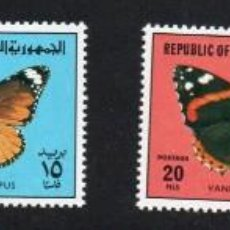 Sellos: IRAK AÑO 1980 YV 972/75*** MARIPOSAS INSECTOS FAUNA. Lote 167039352
