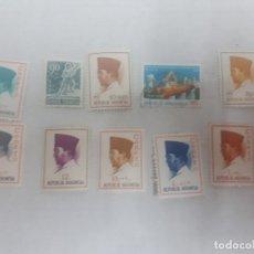 Sellos: 21537 - INDONESIA - LOTE DE 10 SELLOS. Lote 169363468