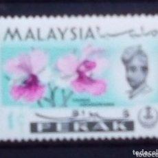 Sellos: MALASIA FLORES SELLO NUEVO. Lote 173521178