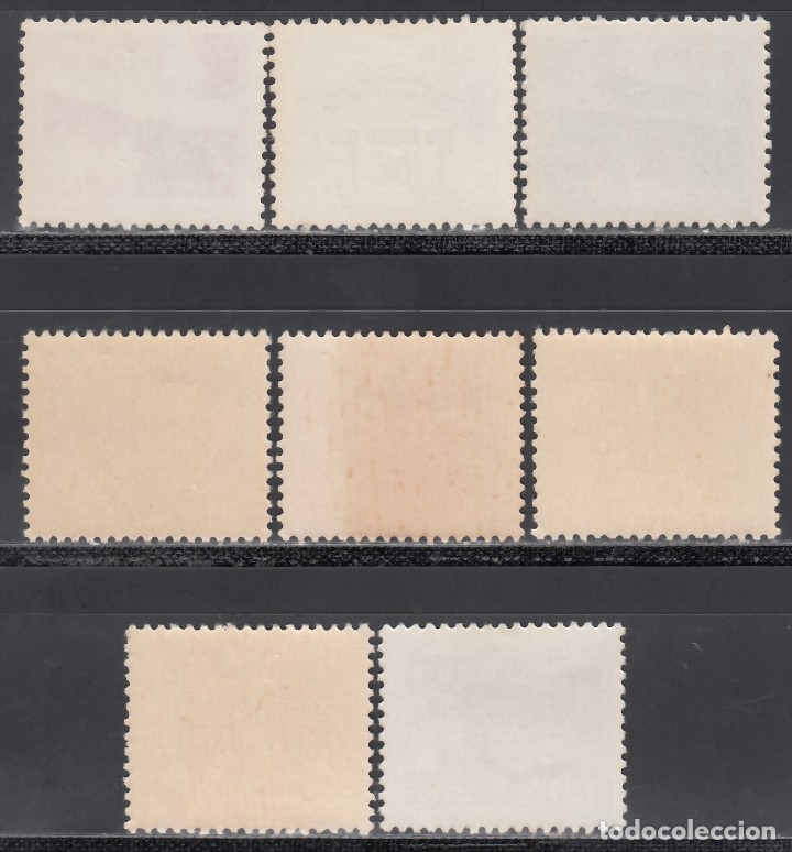 Sellos: RYU-KYU 1952 YVERT Nº 20 / 27 /**/, Arquitectura, Templos - Foto 2 - 173822593