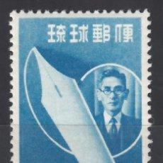 Sellos: RYU-KYU 1952 YVERT Nº 30 /**/, SEMANA DEL PERIÓDICO, SHIGO TOMA, JOURNALIST 1884-1945. Lote 173822623