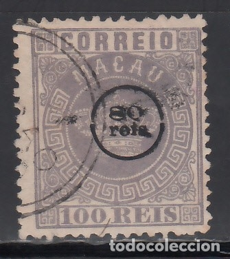 MACAO, 1884 YVERT Nº 10 (Sellos - Extranjero - Asia - Otros paises)