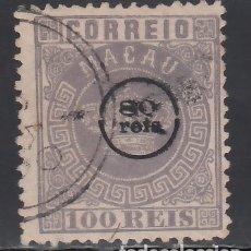 Sellos: MACAO, 1884 YVERT Nº 10 . Lote 173939953