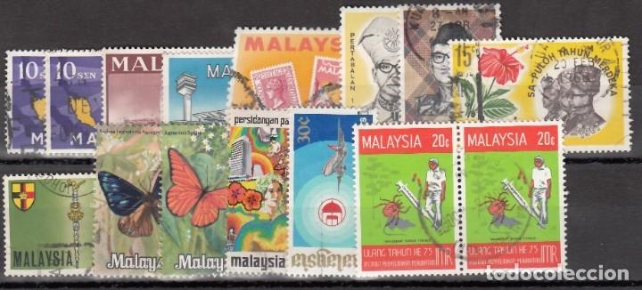 MALASIA, LOTE DE SELLOS USADOS. (Sellos - Extranjero - Asia - Otros paises)