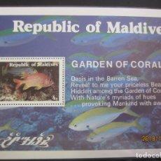 Sellos: MALDIVAS 2010 - HOJA BLOQUE NUEVO. Lote 179213282