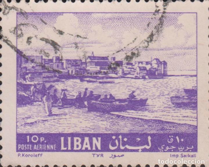 SELLO LIBANO LIBAN USADO FILATELIA CORREOS (Sellos - Extranjero - Asia - Otros paises)