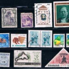 Sellos: VARIOS SELLOS VARIAS CALIDADES ASIA Y AFRICA. Lote 187462688