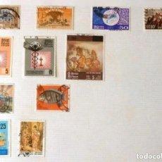 Sellos: SELLOS CEYLAN - FOTO 482 - LOTE 256- 11 SELLOS ,USADOS. Lote 188809635