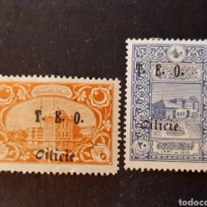 Sellos: CILICIE, YVERT 60*+69*. Lote 194181586