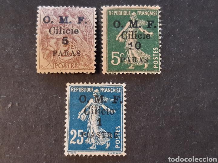 CILICIE, YVERT 89, 90 * (Sellos - Extranjero - Asia - Otros paises)