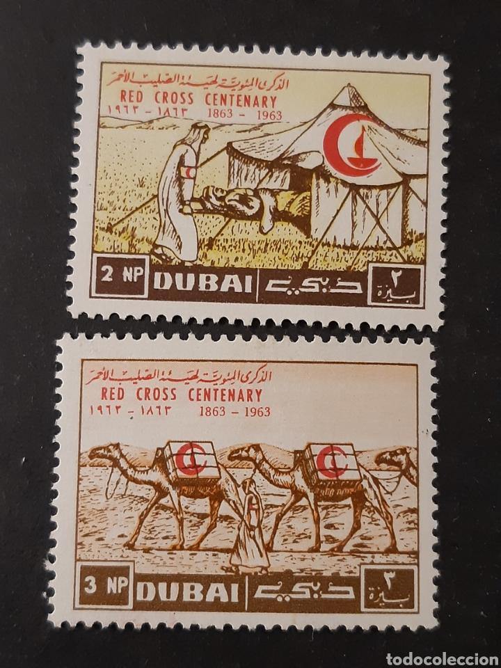 DUBAI, ARABIA DEL SUDESTE, YVERT 19-20** (Sellos - Extranjero - Asia - Otros paises)
