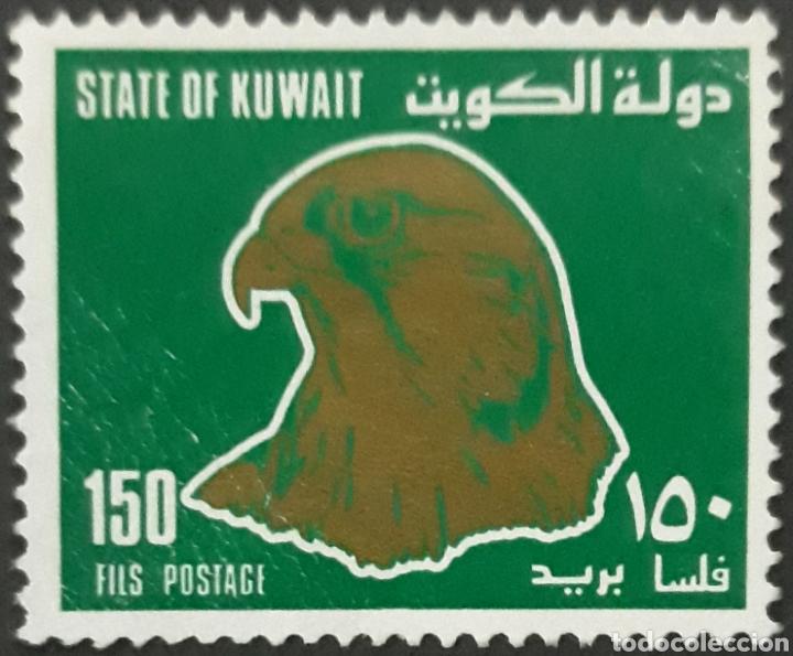 SELLO KUWAIT 150 ÁGUILA (Sellos - Extranjero - Asia - Otros paises)