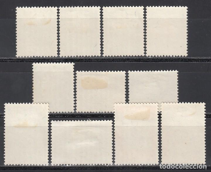 Sellos: CEYLON, Sri Lanka, 1954 YVERT Nº 292 / 302 /*/ - Foto 2 - 203401591
