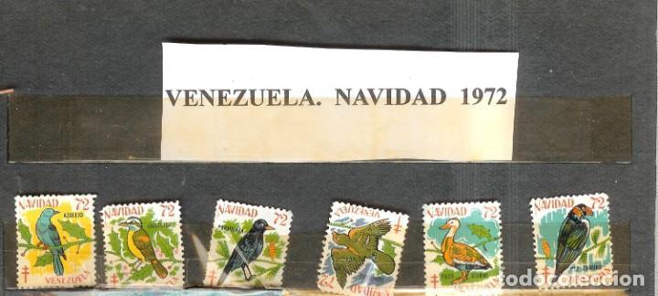 LOTE DE SELLOS DE VENEZUELA. NAVIDAD 1972 (Sellos - Extranjero - Asia - Otros paises)