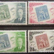 Sellos: BARBADO - COLONIA BRITANICA - IVERT 208/11 - NUEVOS SIN GOMA -. Lote 205678840