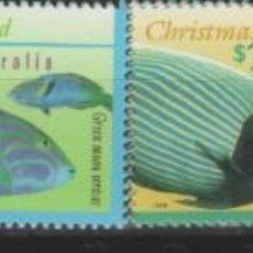 Sellos: LOTE F2-SELLOS AUSTRALIA CRISTIANS ISLAS FAUNA NUEVOS. Lote 206398105