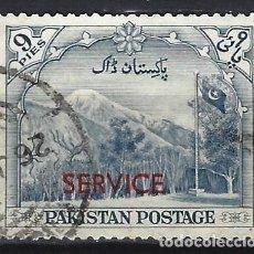 Selos: PAKISTÁN 1957-61 - SELLOS DE SERVICIO, MOTIVOS LOCALES, SOBRIEMPRESO - SELLO USADO. Lote 227636512