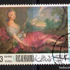 Sellos: RAS-AL-KHAIMA 1968 CTO MICHEL 224A. Lote 210024508