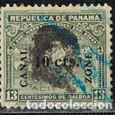 Sellos: CANAL DE PANAMA Nº 27 (AÑO 1911), USADO. Lote 210129831
