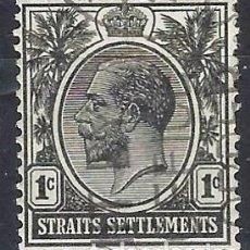 Sellos: STRAITS SETTLEMENTS 1919-20 - REY JORGE V - SELLO USADO. Lote 210837102