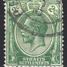 Sellos: STRAITS SETTLEMENTS 1919-20 - REY JORGE V - SELLO USADO. Lote 210837140