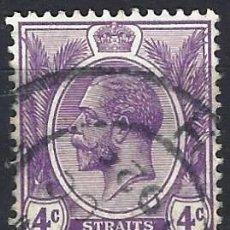 Sellos: STRAITS SETTLEMENTS 1922 - REY JORGE V - SELLO USADO. Lote 210837420