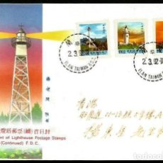 Timbres: TAIWAN 1992 SPD FAROS. Lote 211398202