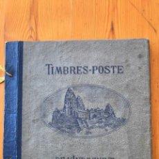 Sellos: INDOCHINE-ALBUM-COLECCIÓN DE SELLOS DEL 1889 AL 1944-VER FOTOS. Lote 212198850