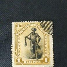 Sellos: ANTIGUOS SELLOS DE BORNEO DEL NORTE 1894, MOTIVOS LOCALES. Lote 212427808