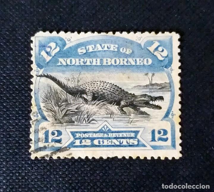 ANTIGUOS SELLOS DE BORNEO DEL NORTE 1894, MOTIVOS LOCALES (Sellos - Extranjero - Asia - Otros paises)