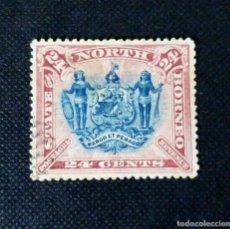 Sellos: ANTIGUOS SELLOS DE BORNEO DEL NORTE 1894, MOTIVOS LOCALES. Lote 212427951