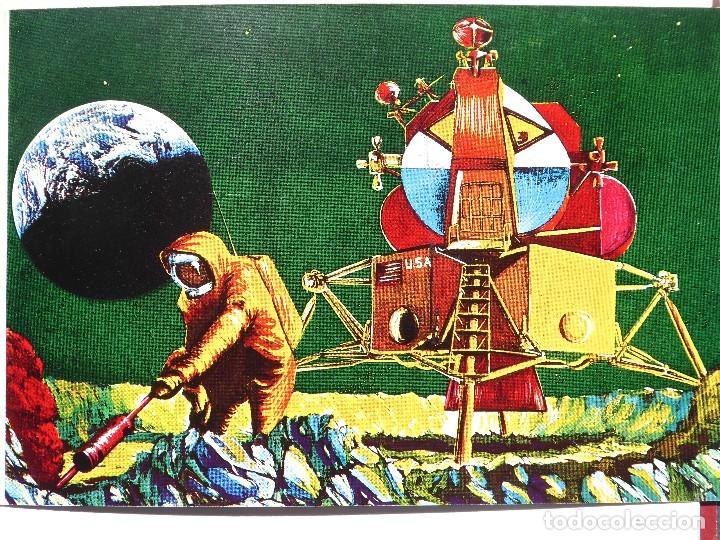 Sellos: SELL-2. SELLO ESTAMPADO EN ORO FINO. YEMEN ARAB REPUBLIC. FIRST MAN ON THE MOON. APOLO 11. 1969. - Foto 3 - 213793326