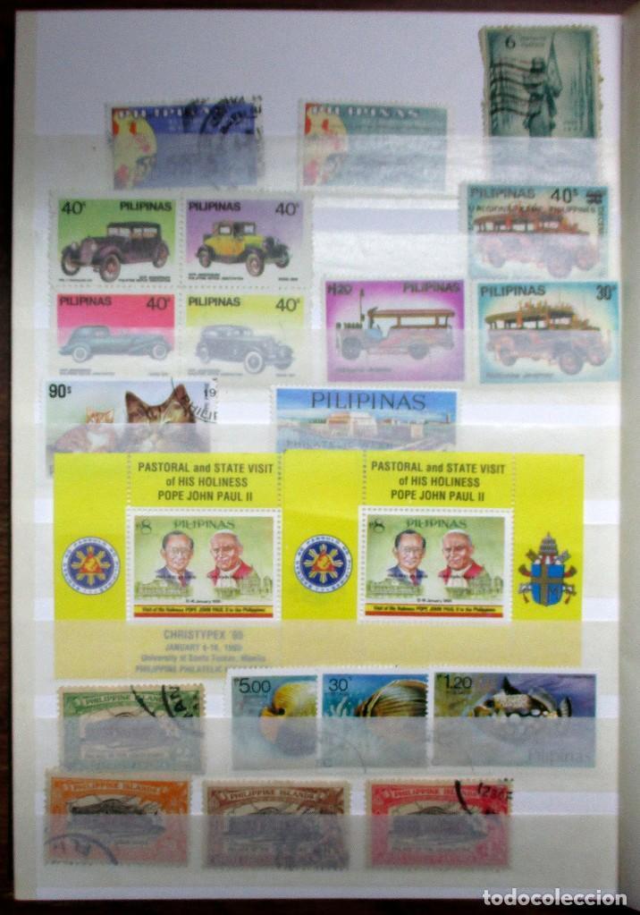 Sellos: CLASIFICADOR CON 932 SELLOS DE PAISES ASIATICOS EN NUEVO Y USADO. LOTE 0077 - Foto 14 - 214323972