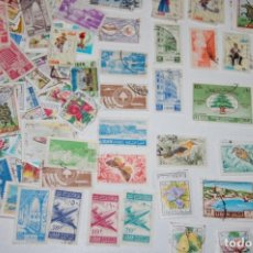 Sellos: LOTE DE 470 SELLOS DE LIBANO. Lote 216716728
