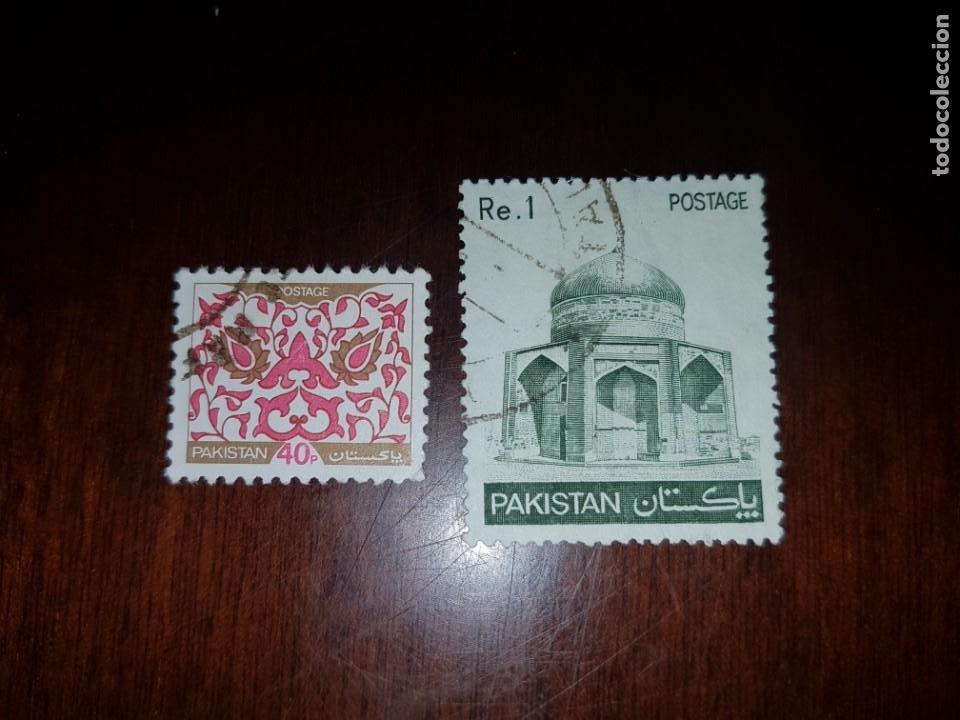 SELLOS USADOS DE PAKISTAN (Sellos - Extranjero - Asia - Otros paises)