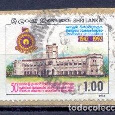 Sellos: SRI LANKA - 1993- USADOS. Lote 227084686