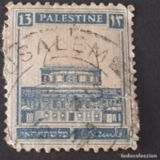 Selos: PALESTINA BRITÁNICA, 1927, TUMBA DE RAQUEL, SCOTT 74, YVERT 71, USADO, ( LOTE AG). Lote 229692495