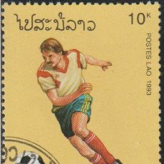 Sellos: LAOS 1993 SCOTT 1149 SELLO * DEPORTES FUTBOL FIFA WORLD CUP FOOTBALL CHAMPIONSHIP US MICHEL 1384. Lote 235318795