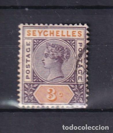 SELLOS ANTIGUOS CLASICOS ISLAS SEYCHELLES AÑO 1893 NUMERO 14 (Sellos - Extranjero - Asia - Otros paises)