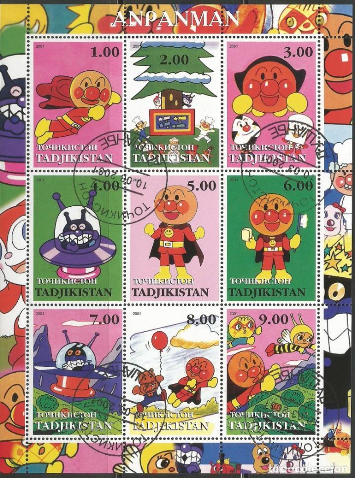 TADJIKISTAN - BLOQUE DE ANPAMAN 2001 - ESCASO - COMBINA CON OTROS ARTÍCULOS (Sellos - Extranjero - Asia - Otros paises)