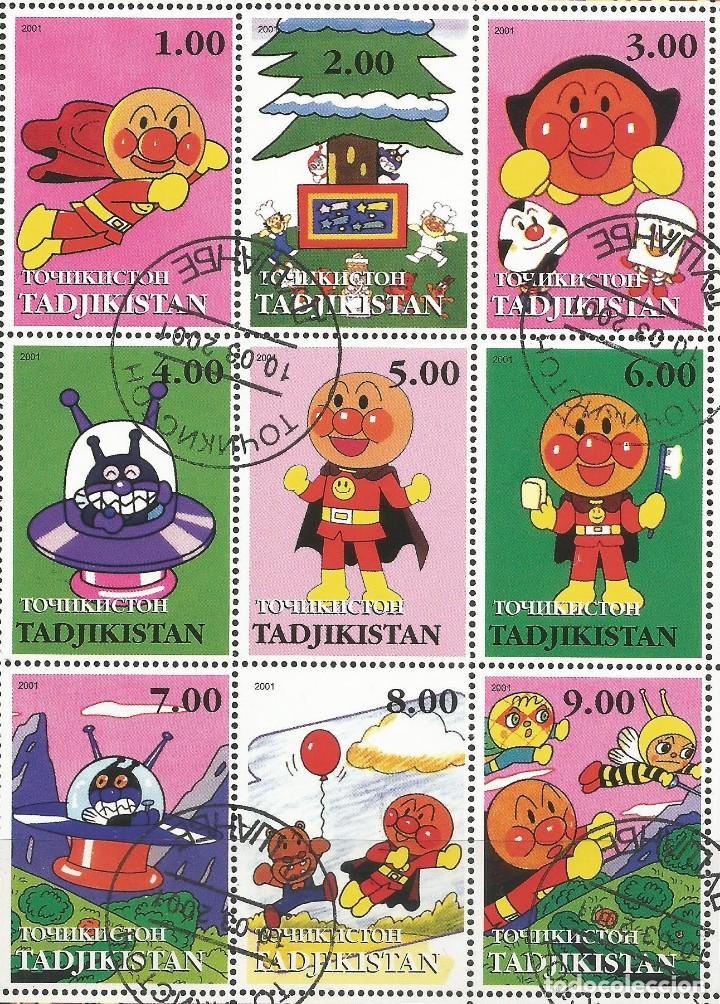 Sellos: TADJIKISTAN - BLOQUE DE ANPAMAN 2001 - ESCASO - COMBINA CON OTROS ARTÍCULOS - Foto 2 - 243686745