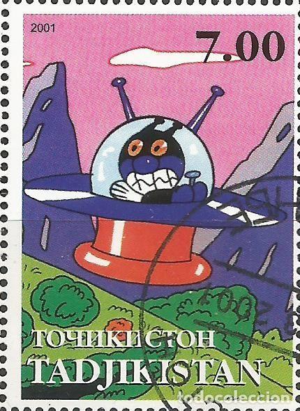 Sellos: TADJIKISTAN - BLOQUE DE ANPAMAN 2001 - ESCASO - COMBINA CON OTROS ARTÍCULOS - Foto 9 - 243686745